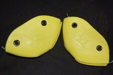 Riedell Leather Toe Caps - Pair in Yellow