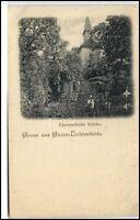 Gross-Lichterfelde Litho-AK um 1900 Berlin Lichterfelde Glesensdorf (er) Kirche