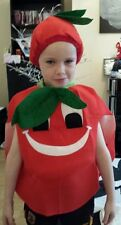 TOMATO TODDLER/CHILDS/FIVE A DAY/WORLD BOOK DAY FANCY DRESS OUTFIT AGE 3