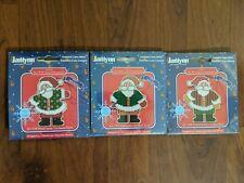 New Janlynn Fun With Santa Ornaments Cross Stitch Kits (3)