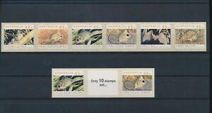 LO44713 Australia self-adhesives animals fauna flora wildlife lot MNH