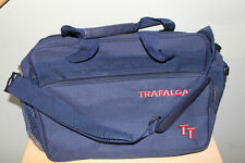 Trafalgar TT Travel Bag Carry On Tote Over Shoulder Navy Blue GREAT TAKE A LOOK!