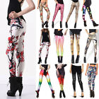 Fashion Womens Pattern Print Women Stretch Sexy Leggings Pencil Skinny Pants
