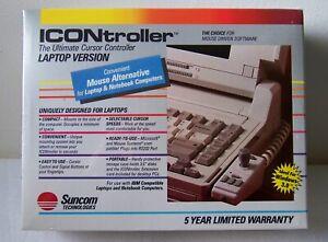 Vtg NOS Suncom Technologies ICONtroller IBM Ultimate Cursor Controller Mouse Alt
