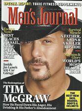 Men's Journal magazine Tim McGraw Toxic fitness supplements Jay Leno car garage
