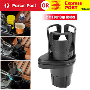 2in1 Multifunction Car Seat Drink Cup Holder Travel Coffee Bottle Water Stand AU