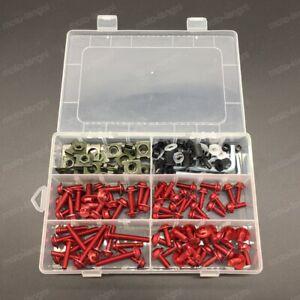For Honda CBR250R GROM/MSX125 CB600F CBR600F Complete Fairing Bolt Kit Screws