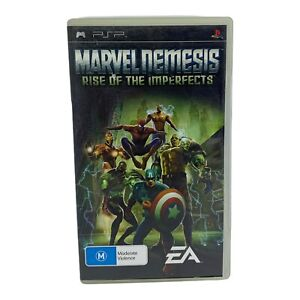 Marvel Nemesis: Rise Of The Imperfects for Sony PSP - Tested & Working