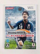 Nintendo Wii Winning Eleven Play Maker 2013- IMPORT - USA SELLER -NTSC-J (Japan)