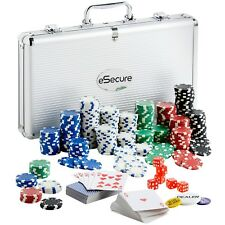 Professional Poker Set 300pcs 11.5g Chips with Carry Case and FREE Accessories