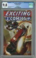 Exciting Comics #1 CGC 9.8 Speedway Edition Variant Cover Brian Denham 2019