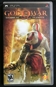 God Of War: Chains Of Olympus  PSP No Manual Black Label