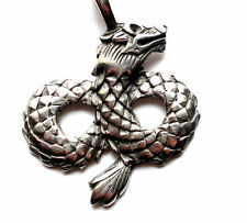 X1 Dragon Pewter Pendant/Necklace
