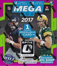 2017 Panini Donruss OPTIC Football NFL Trading Cards 40ct. Retail MEGA Box