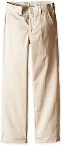 Nautica Childrens Apparel Big Boys Uniform Flat Front Pant L/16- Pick SZ/Color.