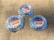 Lot Of 3 Vintage Milk Bottle Caps Kishwaukee Dairy Rockford Illinois