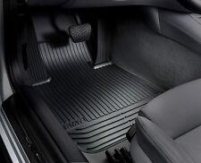 BMW OEM Black Rubber Mats Front & Rear F01 2009-2012 740i 750i Sdns 51472409275