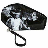We Belong Dead Bride Of Frankenstein Universal Monsters Zip Around Coffin Wallet