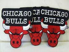 Un écusson aufbügler patch Chicago Bulls 3 pièces - 7,5 x 6,5 CM