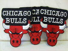 Aufnäher Aufbügler Patch CHICAGO BULLS 3 Stück - 7,5 x 6,5 cm
