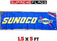 Sunoco Banner Vinyl New 4 Foot x 3 Foot Free Shipping!!!!