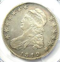 1819 Capped Bust Half Dollar 50C Coin - PCGS XF Details (EF) - Rare Date!