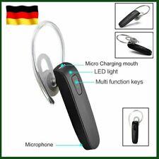 Bluetooth Headset Stereo Kopfhörer Kabellos Ohrhörer mit Mikrofon Handy DHL