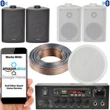 Pared Altavoces Y Subwoofer Bluetooth Sistema – Cine de Casa Amplificador Hifi