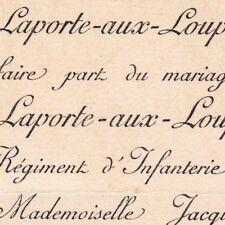 Armand De Laporte-Aux-Loups D'Hust 1891 Jacqueline De Glos