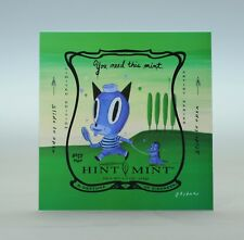 GARY BASEMAN Signed Limited Edition Hint Mint METAL Print - PEPPERMINT 82/100