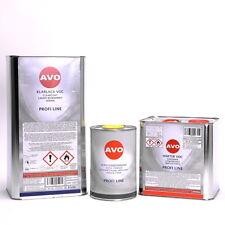 AVO 8,5 Liter 2K VOC Klarlack SET mit VOC Härter und Verdünnung Autolack A004S