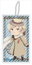 Hetalia Axis Powers Russia Beautiful World Clear Strap Key Chain NEW
