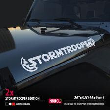 2x STORMTROOPER EDITION SET Star Wars Empire Logo Car Vinyl Sticker Decal