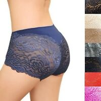 Cozy Lace high waist pants for women Underpants lingerie Briefs G-String  M L XL