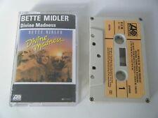 BETTE MIDLER DIVINE MADNESS CASSETTE TAPE 1980 PAPER LABEL ATLANTIC