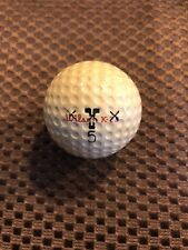 LOGO GOLF BALL-VINTAGE WILSON K-28 X-OUT SCOTLAND #5...CADWELL COVER