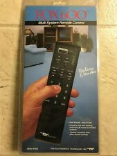FOX 600 USER FRIENDLY UNIVERSAL REMOTE CONTROL FOR TV,USED ONCE,NON SMOKING HOME