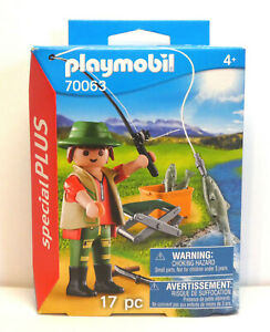 Playmobil Special Plus Angler, 70063 in Box