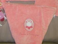 Edredon bébé doudou et Cie : souris rose NEUF