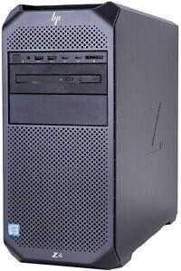 HP Z4 G4 4-Core W-2125, 4.00GHz, max.4.50GHz 32 GB DDR4 512GB SSD P4000 WIN10