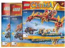 Lego New Instruction Manuel only for Set  70146 Flying Phoenix Fire Temple Book