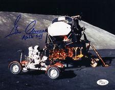 (SSG) Apollo, NASA Astronaut GENE CERNAN Signed 10X8 Photo - Full JSA Letter COA