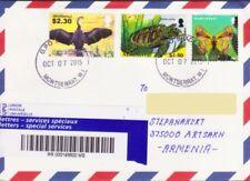 Sellos de colonias británicas correo aéreo