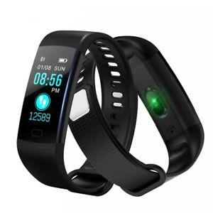 New Sports Fitness Tracker Waterproof Heart Rate Smart Watch Monitor Fit#bit