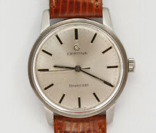 Certina Bristol 230 vintage 1970 manual steel watch exc+++ well working