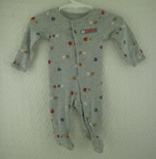 Doll Clothes Carter's Sports Baseball Football Sleeper Newborn Infant Outfit