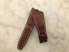 Watch Strap Correa AUDEMARS PIGUET 28 mm Brown Leather ROYAL OAK - Usado Used