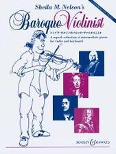 BAROQUE VIOLINIST Nelson Violin*