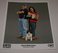 "BAYOU BILLONAIRES CMT TV OFFICIAL 8""X10"" PROMOTIONAL PICTURE RARE HTF OOP"