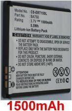 Batterie 1500mAh type BA750 Pour SONY ERICSSON Xperia Acro SO-02C